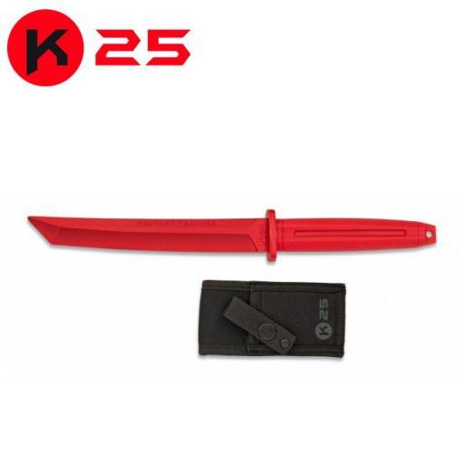 Cuchillo de Entrenamiento Tanto K25 Rojo [0]