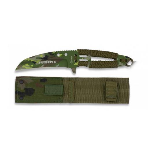 Cuchillo Encordado INTREPID Camo