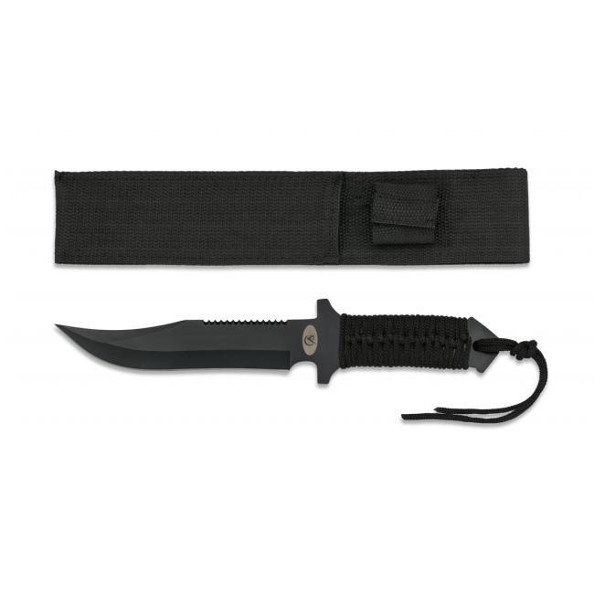 Cuchillo Encordado Negro