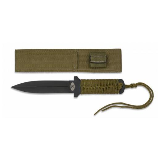 Cuchillo Encordado Verde