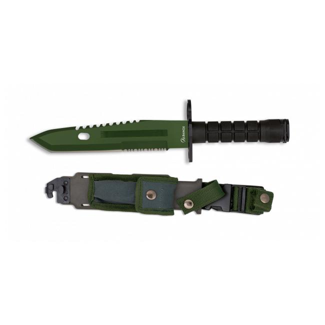 Cuchillo Bayoneta Verde