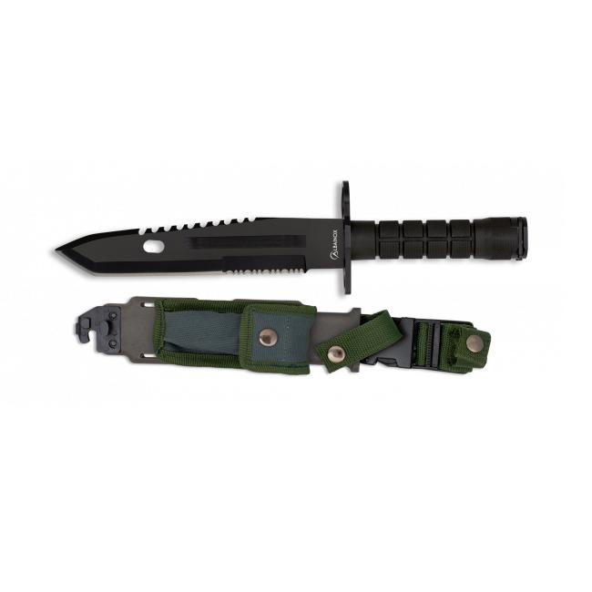 Cuchillo Bayoneta Negro