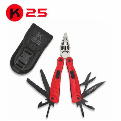 Alicate Tactico K25 Rojo [0]