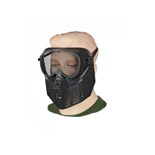 Mascara Negra PVC