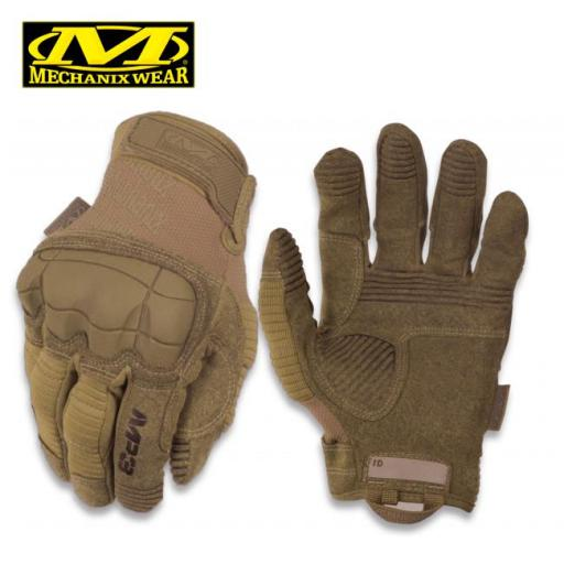 Guantes Tacticos MECHANIX WEAR M-PACT3 Coyote