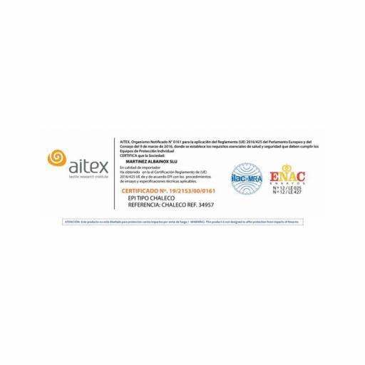 Chaleco Anticorte/Antipinchazo [1]