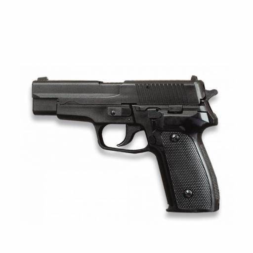 Pistola Airsoft Pesada Negra HFC
