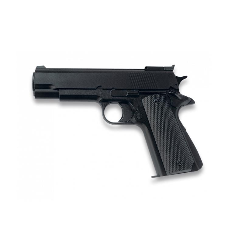 Pistola Airsoft Gas Negra