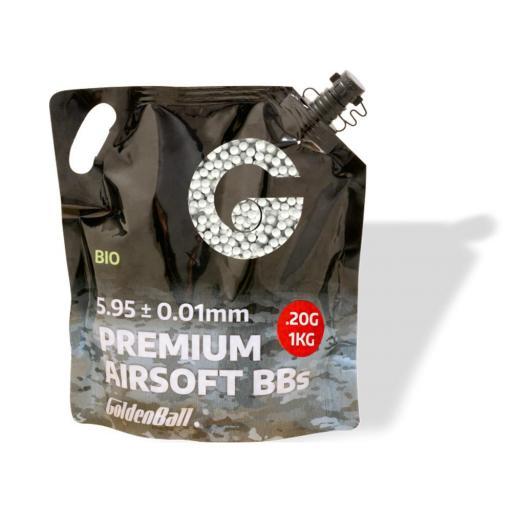 Bolas Biodegradable Alta Precision GOLDEN BALL