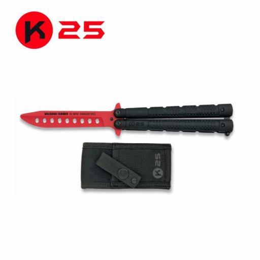 Abanico Entrenamiento Rojo K25