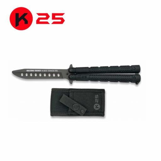 Abanico Entrenamiento Negro K25