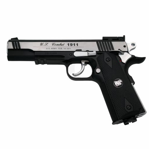Pistola WG - Colt 1911 Special Combat. Bicolor