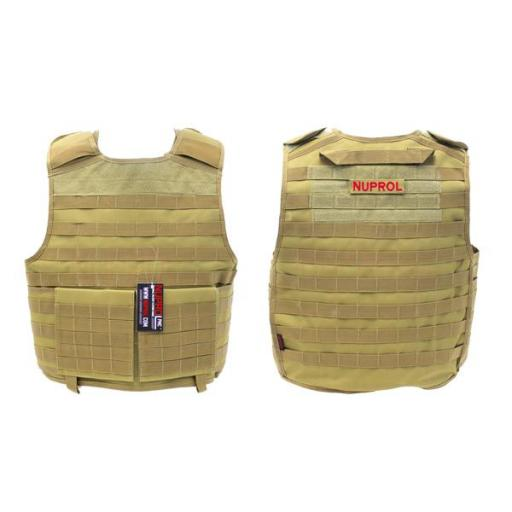Chaleco Tactico Tan NUPROL PMC PLATE CARRIER