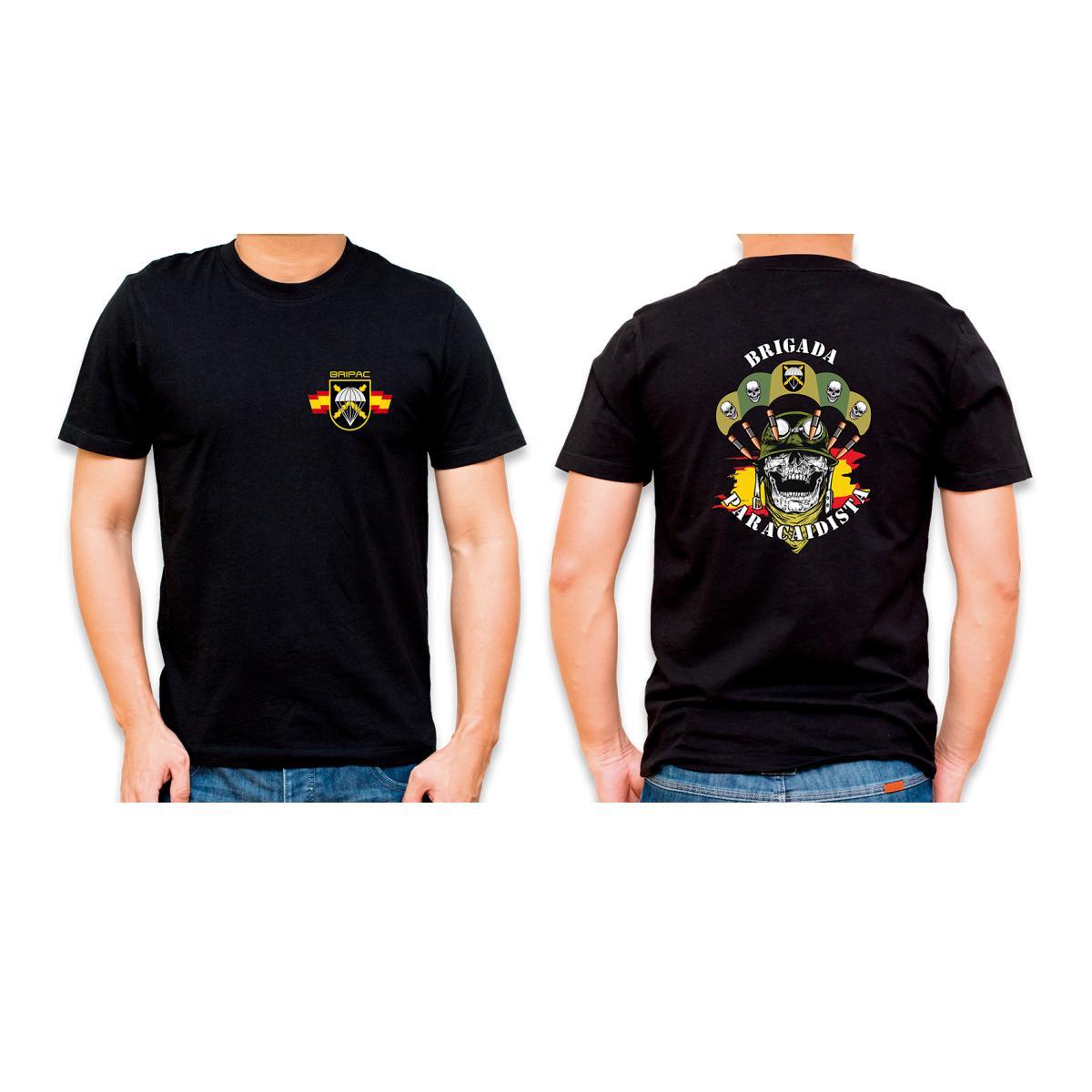 "Camiseta Basica Barbaric Negra ""Bripac"""