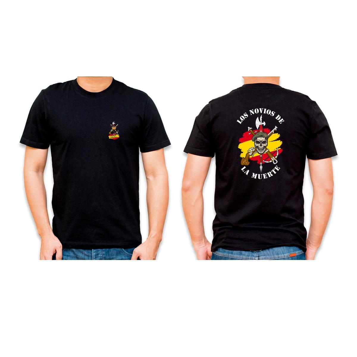 """Camiseta Basica Barbaric Negra """"Legión"""""""