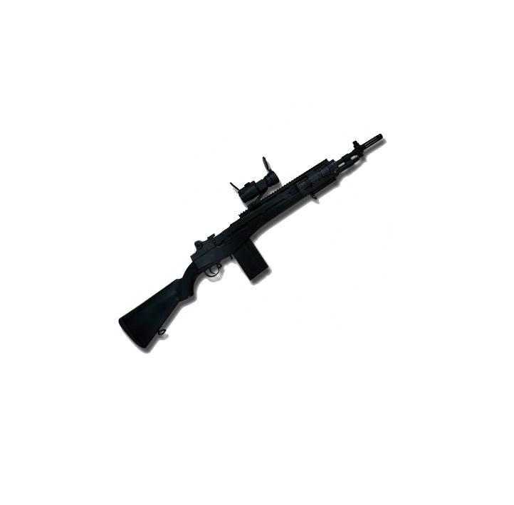 Fusil Tipo M14 Socom con Visor y Linterna