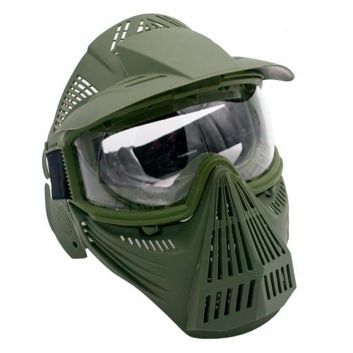 Mascara Verde Airsoft