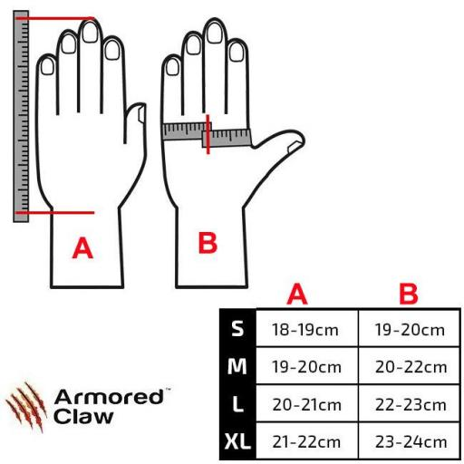 """Guantes Tacticos  ARMORED CLAW """"SHIELD"""" [3]"""