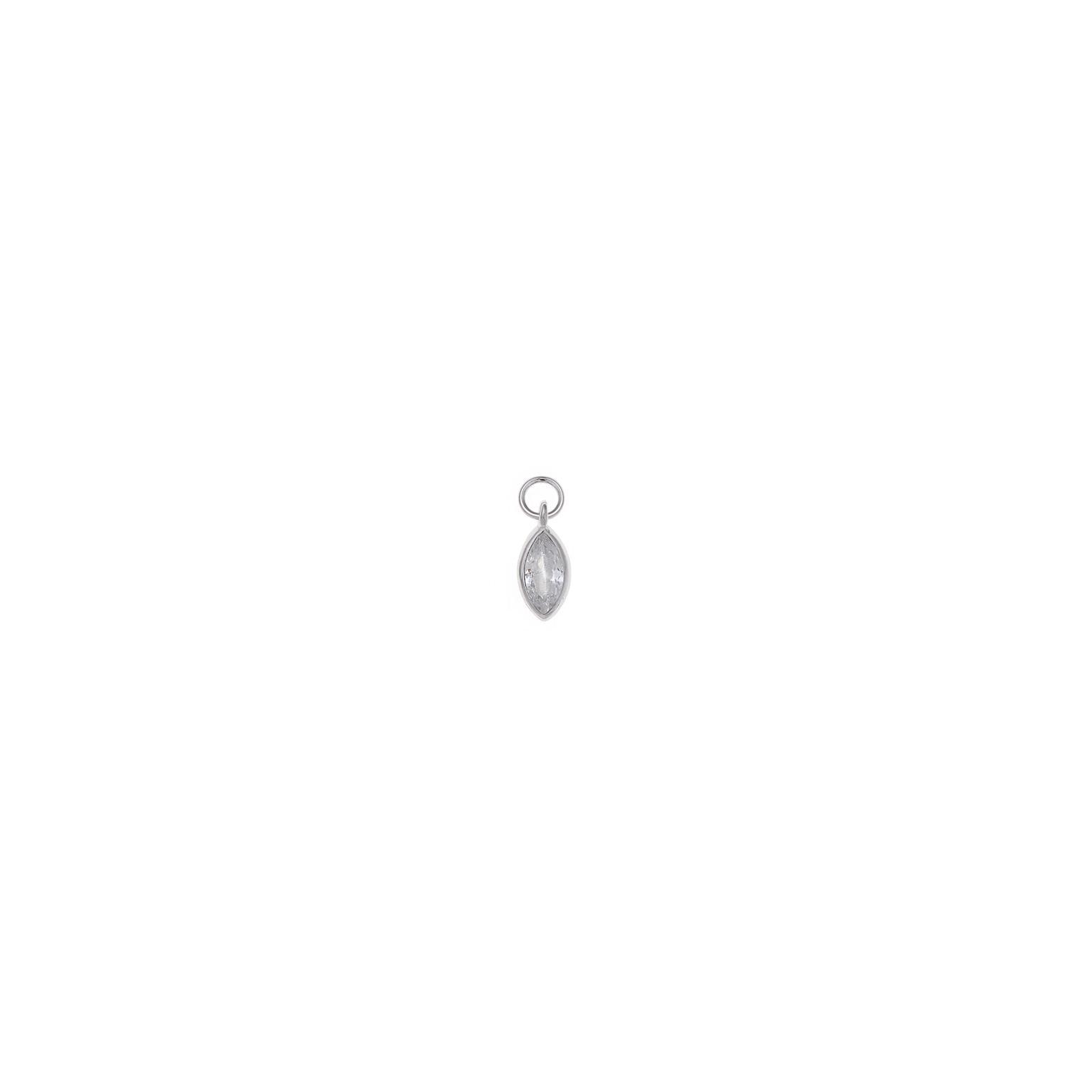 Charm plata Salvatore marquesa circonita blanca