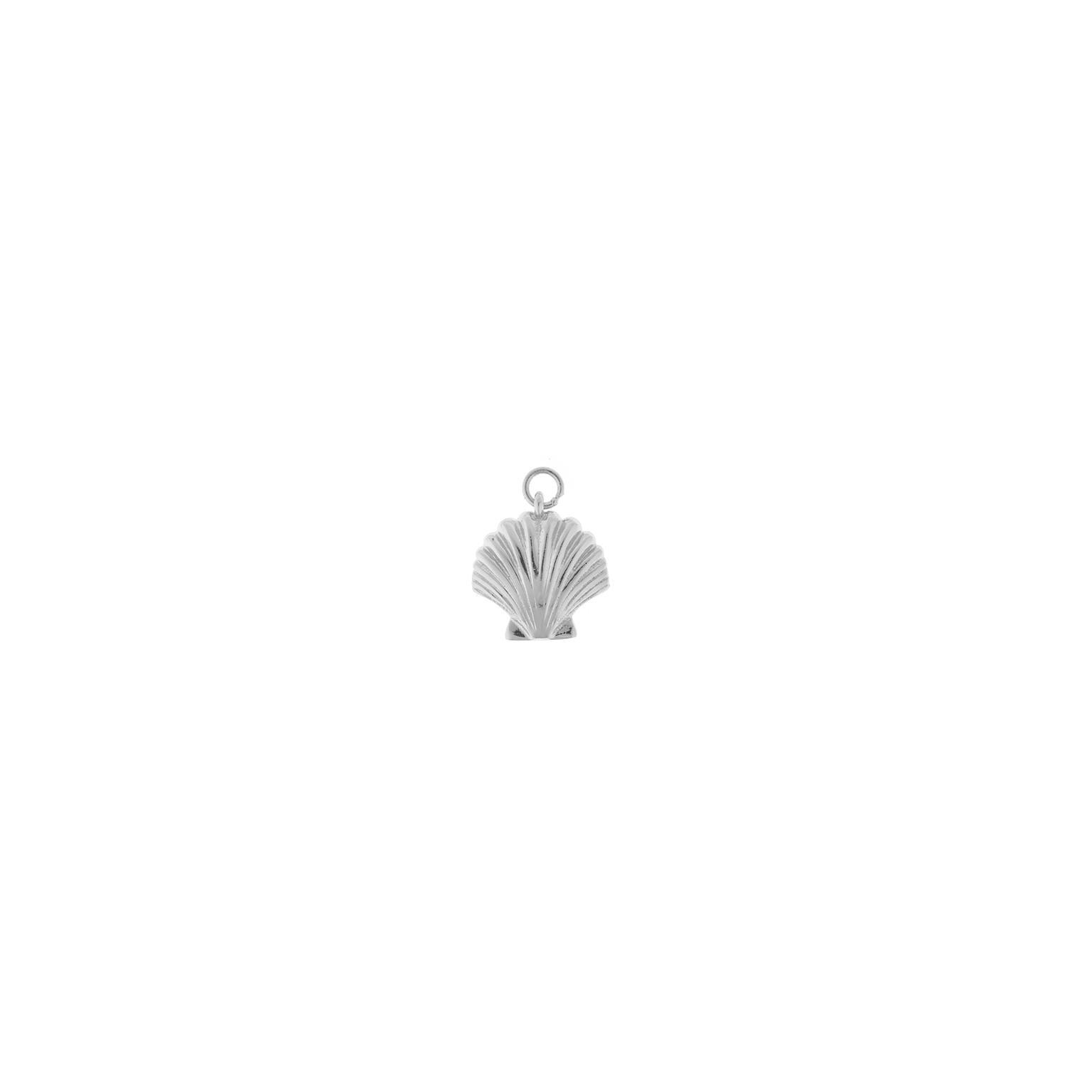Charm plata Salvatore con forma de concha