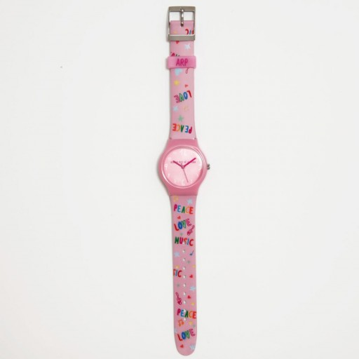 Reloj pequeño flip Agatha Ruiz de la Prada Peace, love & music [1]
