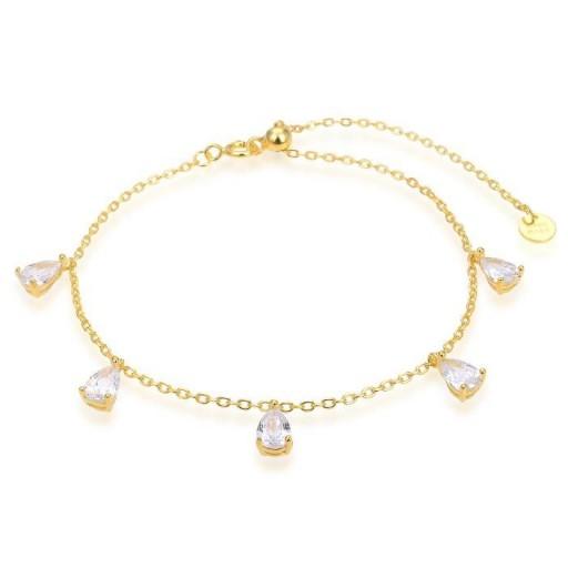 Pulsera plata Haelar Luxenter multi charms circonitas dorada