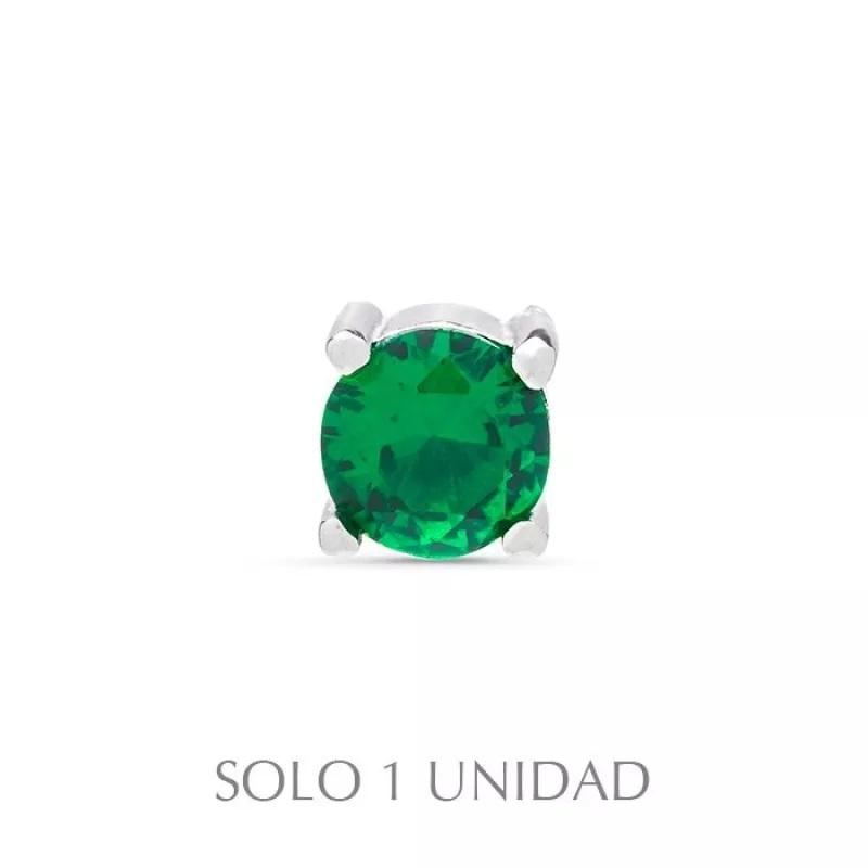 Piercing plata Brandsa  Luxenter verde