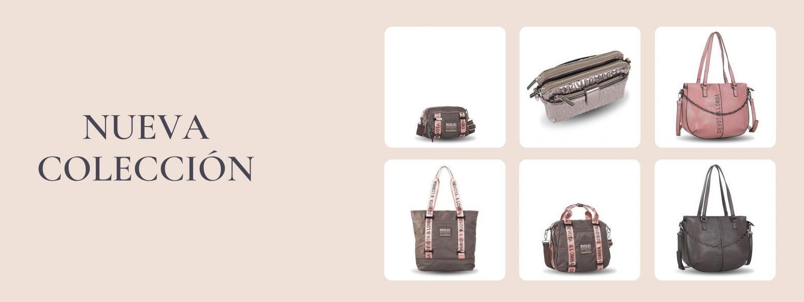 Nueva Colección Bolsos y mochilas Devota & Lomba