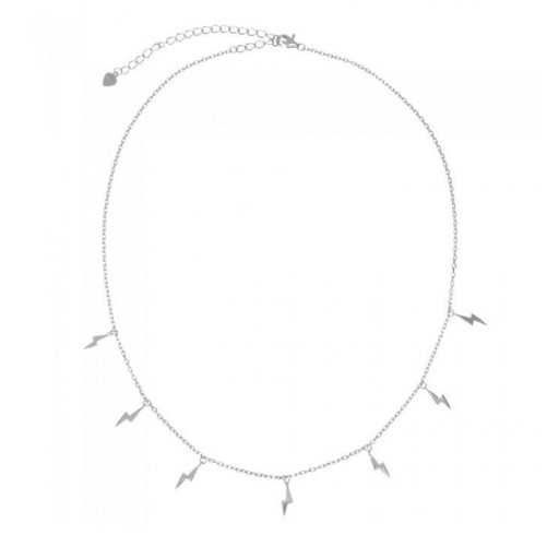 Colgante de plata Pilar Breviati  charms sitete rayos en  plata lisa [1]