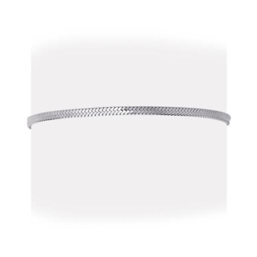 Pulsera acero  Anartxy plana 2,5mm tipo serpiente plateada [1]
