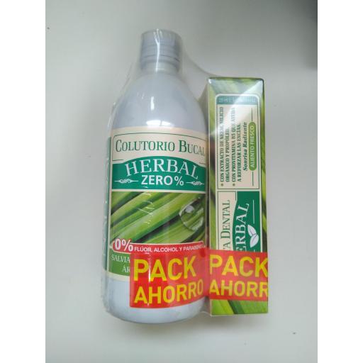 Pack Ahorro Colutorio -Pasta de dientes