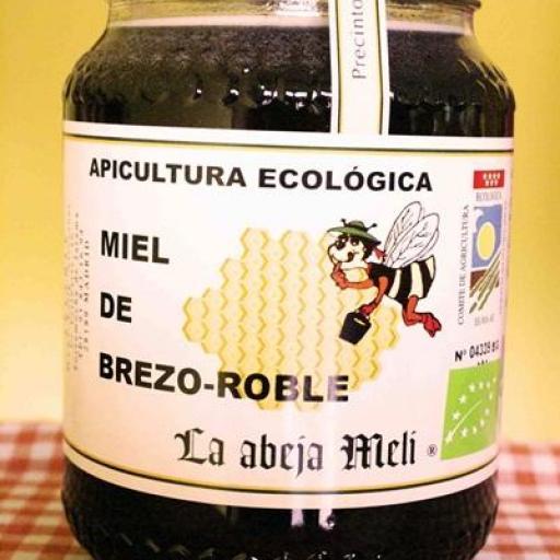 """Miel Biológica Brezo-Roble """"La abeja Meli"""""""