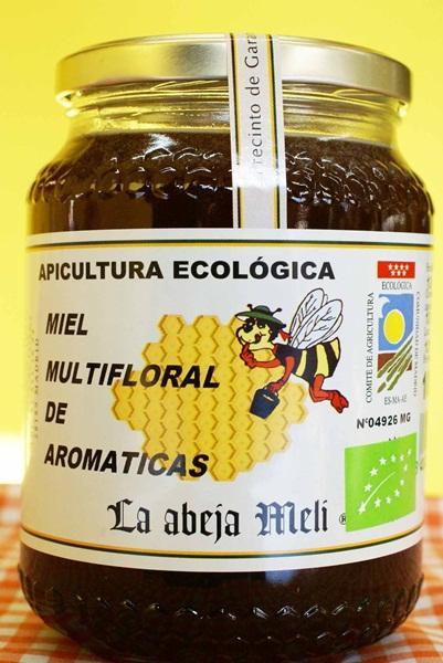 "Miel Biológica Multifloral  ""La abeja Meli"""