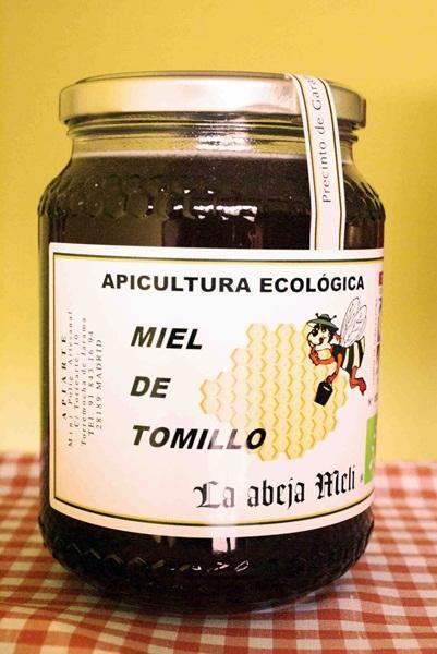 "Miel Biológica de Tomillo ""La abeja Meli"""