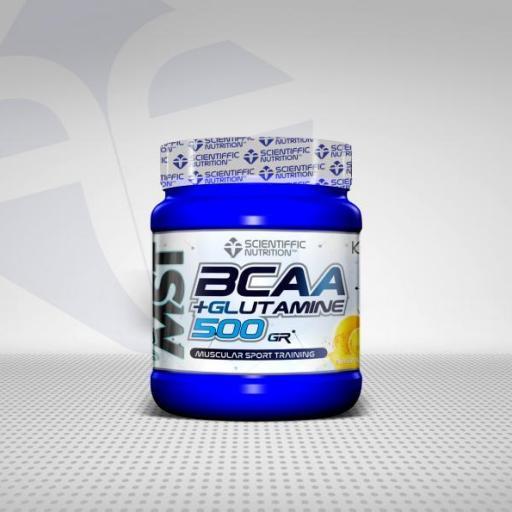 BCAA + Glutamina 500gr