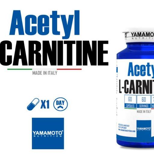 Acetyl-L Carnitina 1000mg