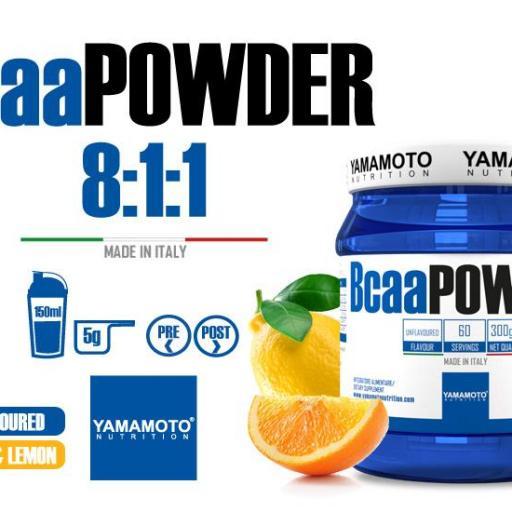Bcaa powder 8:1:1 Yamamoto