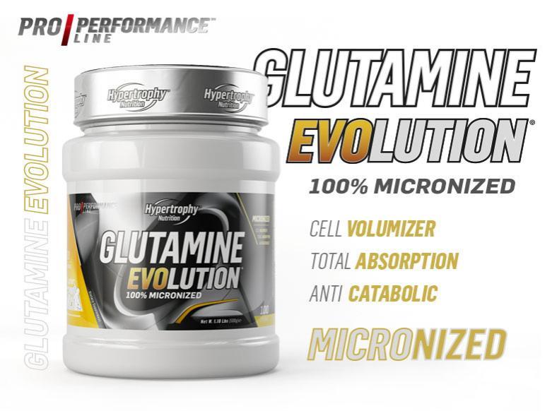 Glutamina evolution 500gr