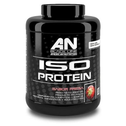 Iso protein - Black Line