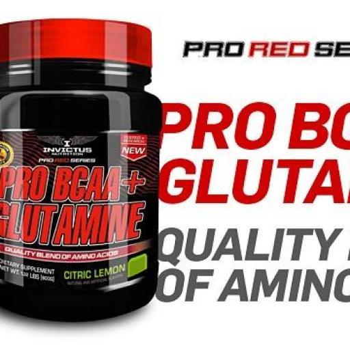 PRO BCAA+GLUTAMINA 600gr