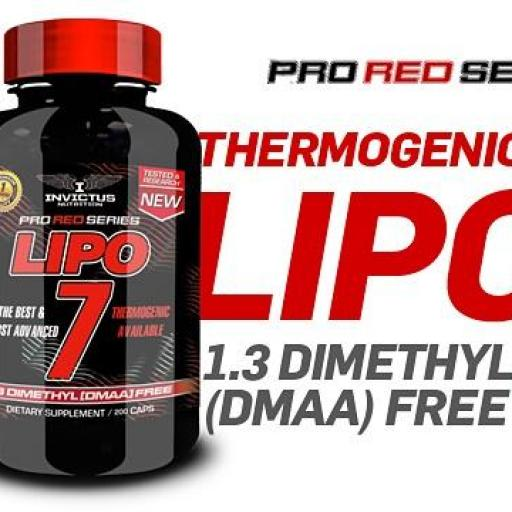 LIPO 7 Thermogernic Red Series