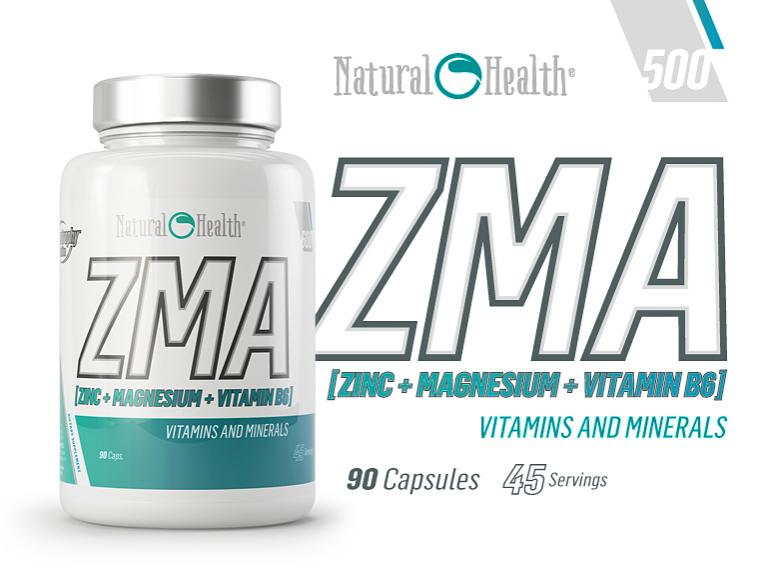 ZMA (Zinc+Magnesio+Vitamina B6)