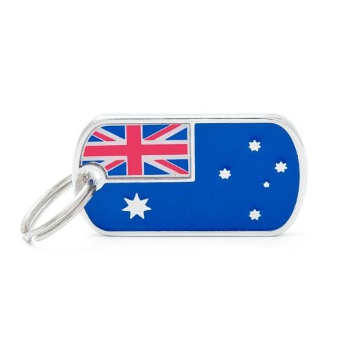 Placa Bandera de Australia
