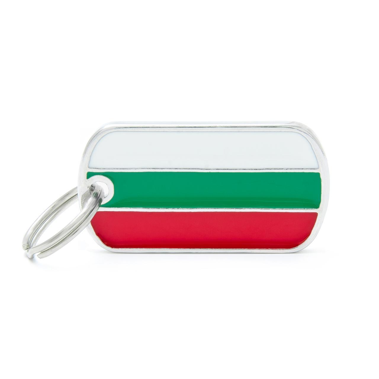 Placa Bandera de Bulgaria