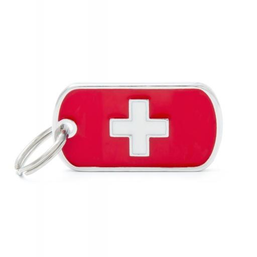 Placa Bandera de Suiza
