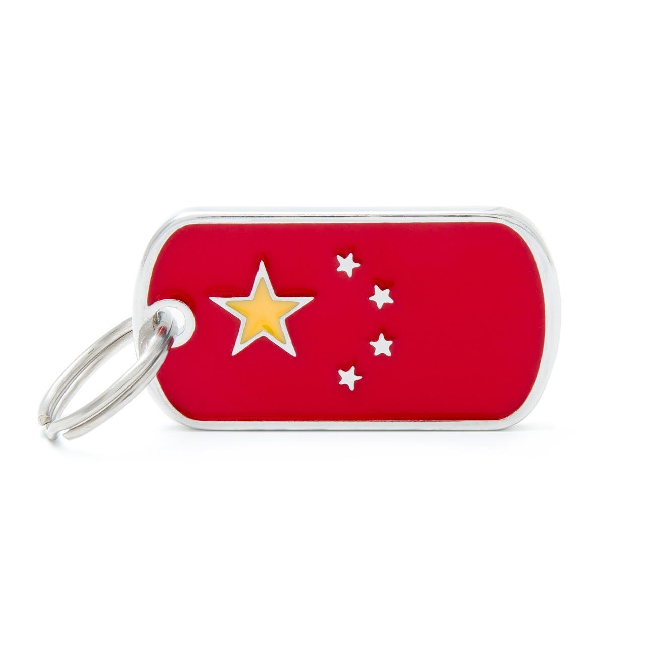 Placa Bandera de China