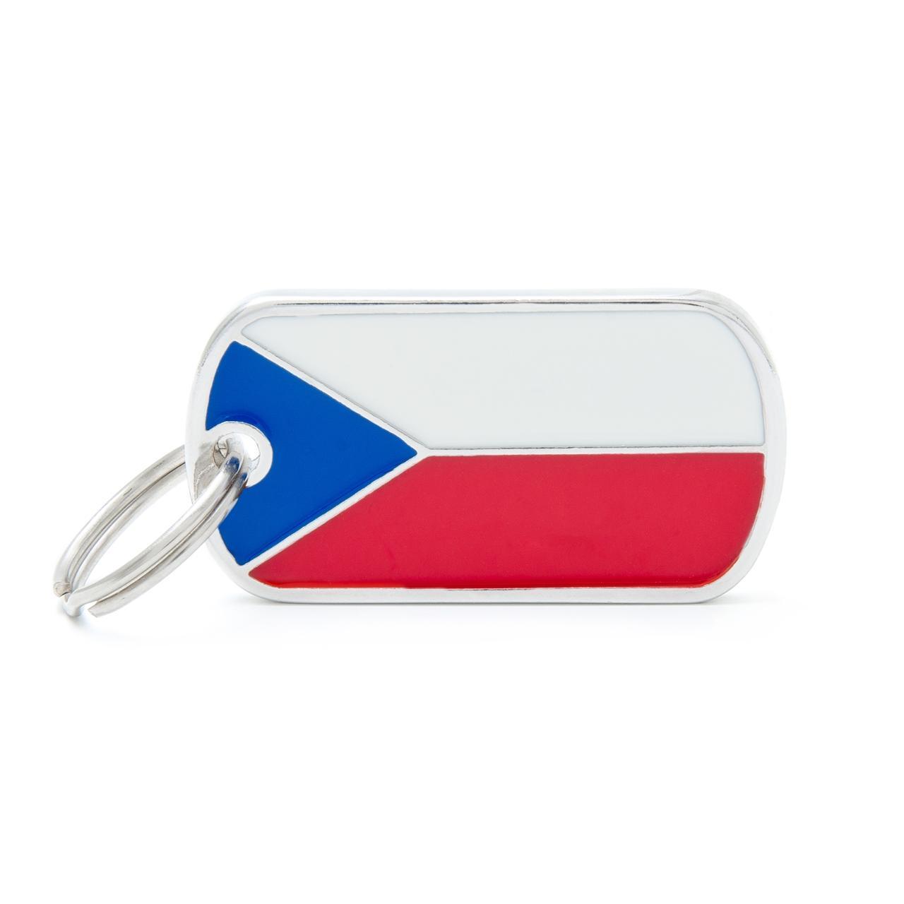 Placa Bandera de República Checa