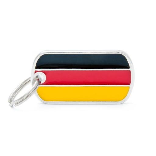Placa Bandera de Alemania