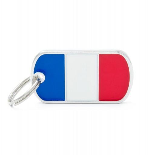 Placa Bandera de Francia
