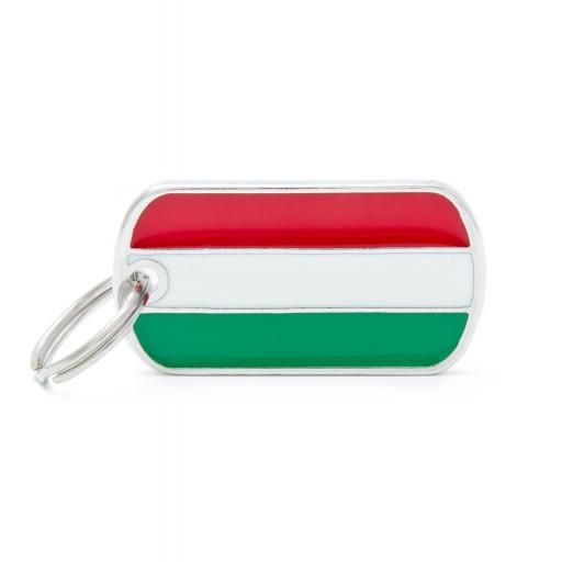 Placa Bandera de Hungría